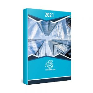 Coverlux Full Colour A5 Diary - White or Cream Paper - Day per Page